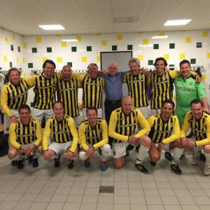 Business club-team speelt in Kyocera Stadion