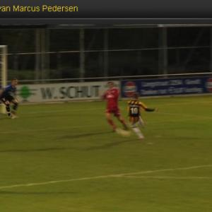 VIDEO: Check out Pedersen's first goal