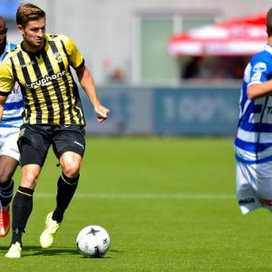 Line-up PEC Zwolle vs Vitesse