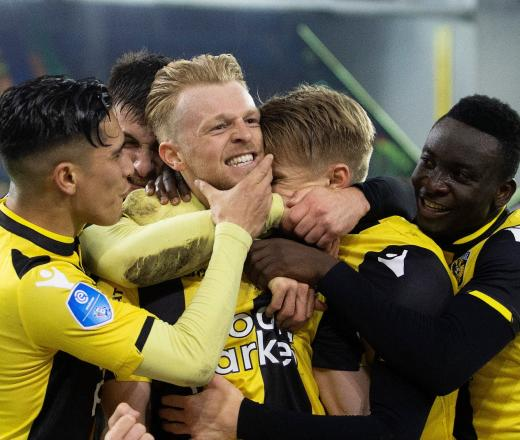Vitesse pakt volle buit in spannend duel