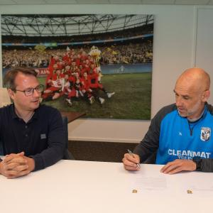 Hoofdtrainer Thomas Letsch verlengt contract (video)